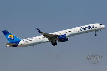 D-ABOB Condor Boeing 757