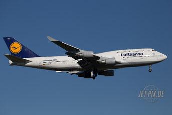 D-ABVW Lufthansa Boeing 747