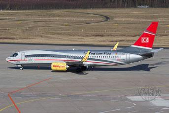 D-ATUE TUI Boeing 737