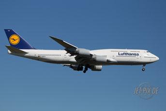 D-ABYS Lufthansa Boeing 747