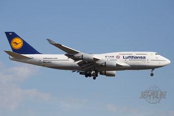 D-ABVU Lufthansa Boeing 747