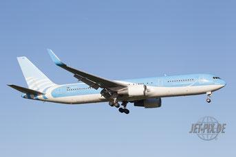 OO-TUC Jetairfly Boeing 767