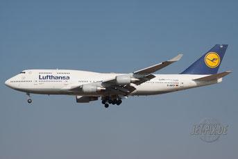 D-ABTF Lufthansa Boeing 747