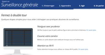 Conseils de Firefox sur la surveillance : naviguez avec prudence, couvrez votre webcam, attention au wifi en espace public