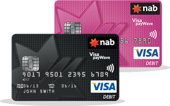 NAB Visa Debit Cards