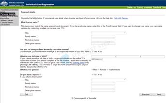 ATO - Individual Auto-Registration 4