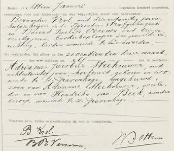 Overlijdensregister 1919, Bijzondere Strafgevangenis Leeuwarden