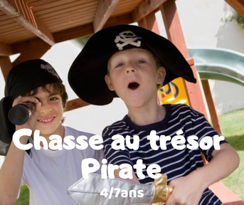 Chasse au trésor pirate