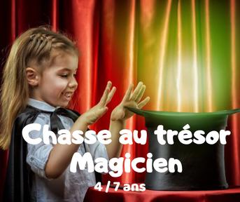 chasse au trésor magicien à imprimer