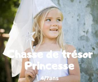 Chasse au trésor Princesse