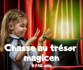 Chasse au trésor magicien