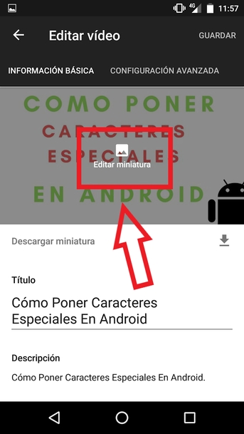 Editar Miniaturas De Youtube En Android