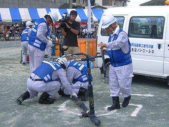 藤沢市総合防災訓練への参加