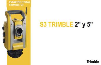 estaciones totales trimble S3