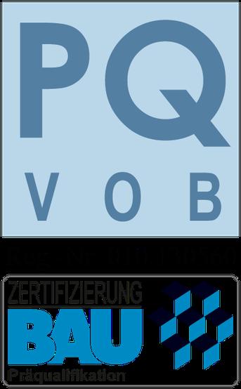 VOB Präqualifizierung für Frank Hörmann Wankendorf Reg.-Nr. 010.130560