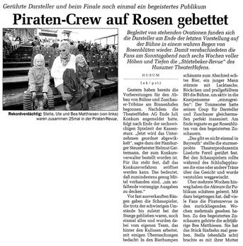 Husumer Nachrichten, 18.8.98