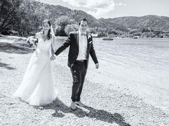 Hochzeitspaar Schleier