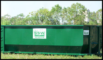 Southern Solid Waste 30 yard roll off container