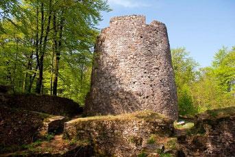 Iburg Ruine © Frank Grawe, www.klosterregion.de