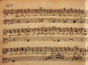 Cahier de notes d'Anna Magdalena