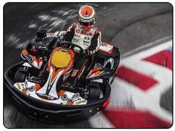 Carrera de karts en Alicante