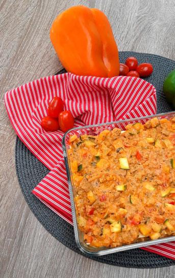 Lasagne met tomatenricottasaus