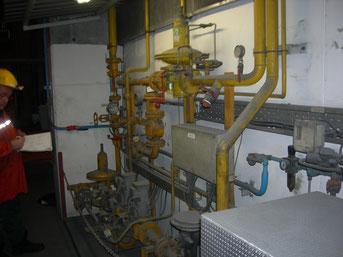 dimensionnement installation gaz naturel