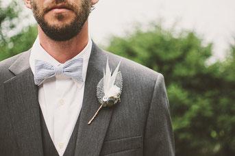 Fliege Anzug