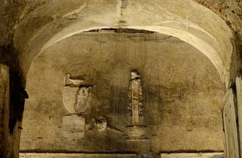 Particolare della Basilica Sotterranea di Porta Maggiore