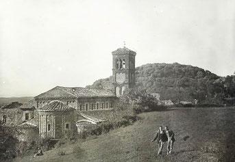 San Giovanni in Argentella in una foto d'epoca