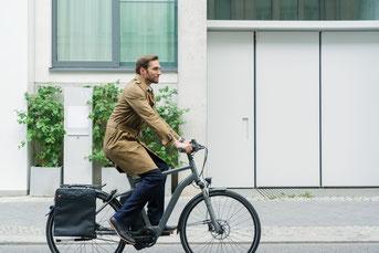 City e-Bikes in der e-motion e-Bike Welt in Nürnberg