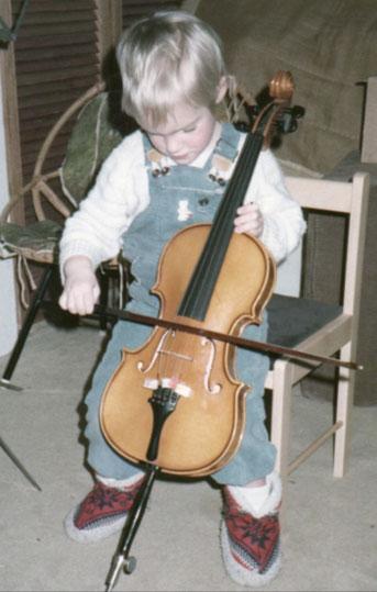 Cellolehrerin Andrea Millett in München-Westkreuz