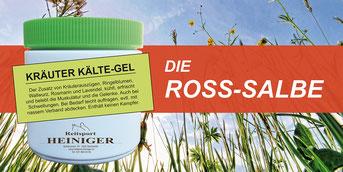 Reitsport Heiniger, Schönbühl - Blogartikel Die Ross-Salbe