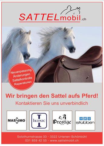 Reitsport Heiniger, Schönbühl - Blogartikel Sattelmobil