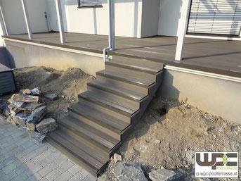 bildergalerie wpc terrassenbelag poolumrandung terrasse stufen sichtschutz wpc poolterrasse. Black Bedroom Furniture Sets. Home Design Ideas