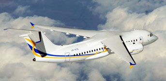 The An-158 is the latest variant built by Ukrainian aircraft producer Antonov  /  source: Antonov Design Bureau