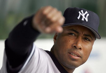 Nella foto Bernie Williams