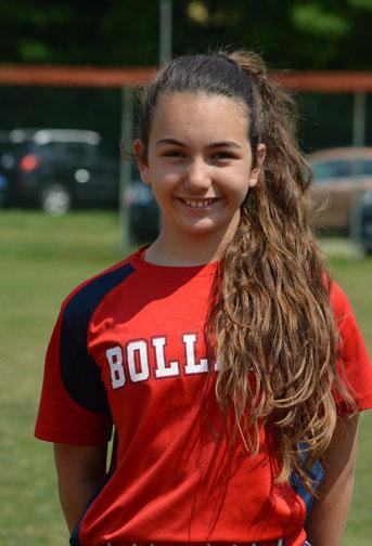 Nella foto Chiara Di Lauro (Foto tratta dal sito del Bollate Softball)