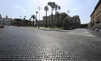 Roma a Ferragosto, Archivio foto La Repubblica
