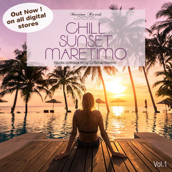 CD Chill Sunset Maretimo Vol.1 - By DJ Michael Maretimo - the premium chillout soundtrack
