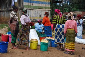 Markt in Marangu