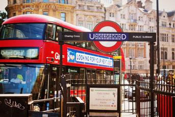 England, Großbritannien, London, Bus, Underground, Die Traumreiser