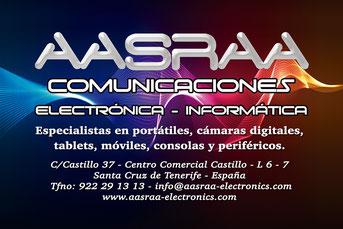 Aasraa Electronics en Tenerife