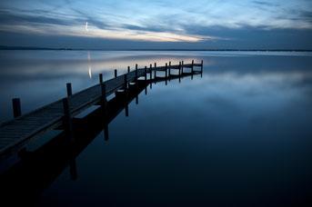 Blaue Stunde am Meer, Quelle Pixabay
