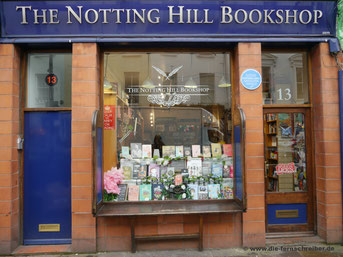 "Original-Buchhandlung aus dem Film ""Notting Hill"""