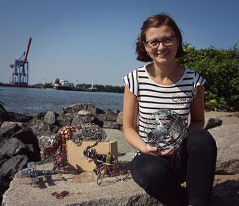 Gründerin Kristin ist jetzt ein Startup Face der Uni Hamburg