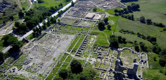 The UNESCO world heritage monument of Philippi