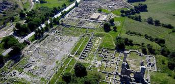 The UNESCO world heritage monument of Philippi