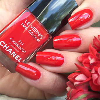 swatch CHANEL COQUELICOT 717 by LackTraviata