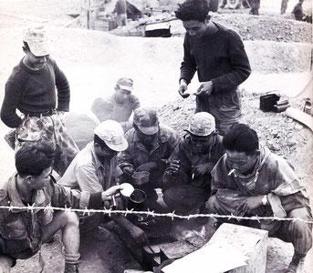 Autochtones du 8 BPC a Dien Bien Phu